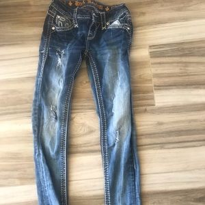 "Rock Revival Jeans - Rock Revival ""Sundee"" Ankle Skinny Jeans Size 24"